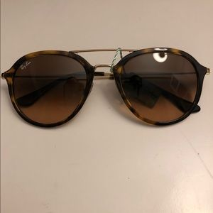 Ray-ban Highstreet Tortoise Shell Sunglasses